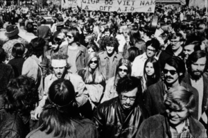 Anti-war Protest at SIU in the 1970s